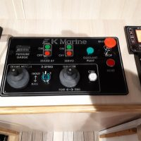 Wheelhouse Hydraulic Control Panel