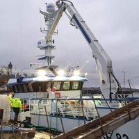 EK Marine Fishing Landing Crane