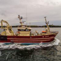 MFV Fiona K III Equiped with EK Marine Fishing Cranes
