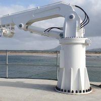 Stiff Boom Marine Pier Crane