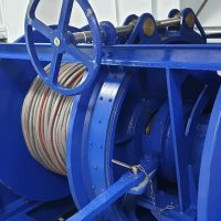 Triple Barrel Trawl Winch