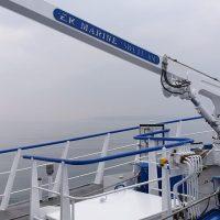 Stiff Boom Fishing Landing Crane